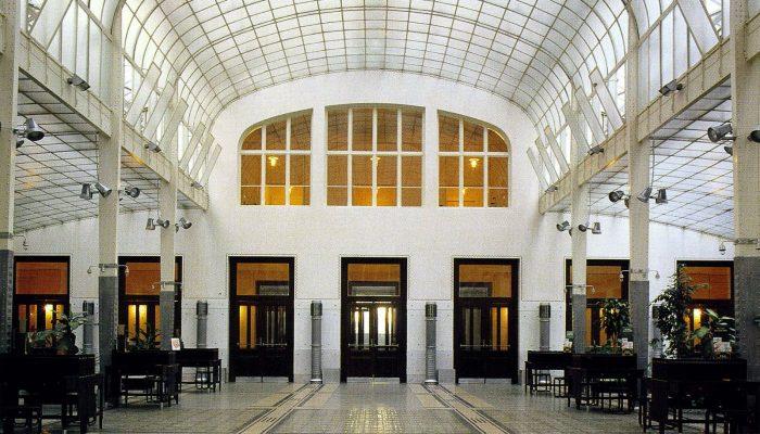 wenen otto-wagner-lobby-postal-savings-bank